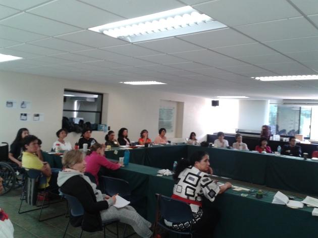Participantes del taller en León, Guanajuato, México.